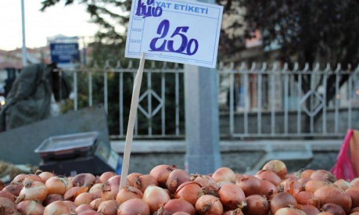 Soğan fiyatlarında yüzde 50 düşüş