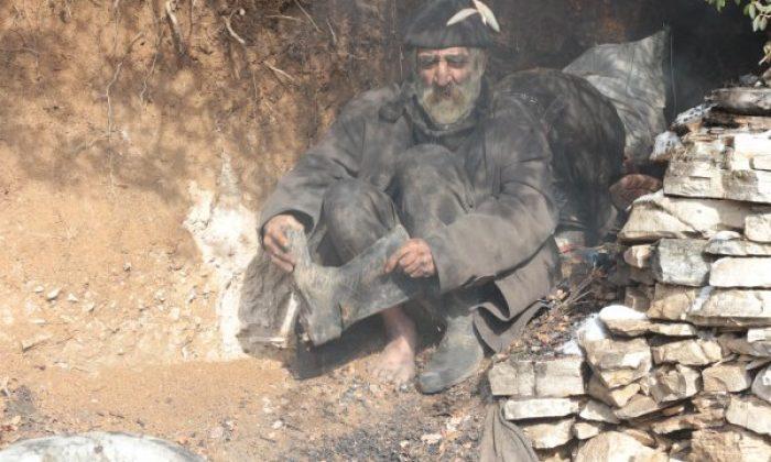 40 yıldır mağarada yaşayan Balıkesirli