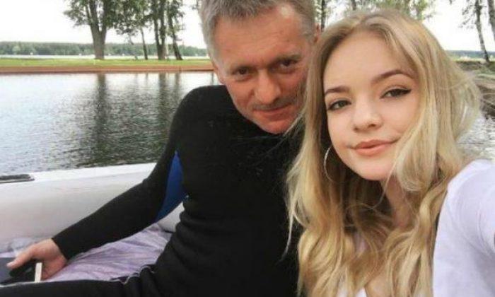 Peskov'un kızına ajan muamelesi