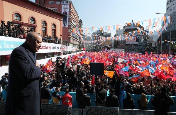 Cumhurbaşkanı Erdoğan Zonguldak mitinginde